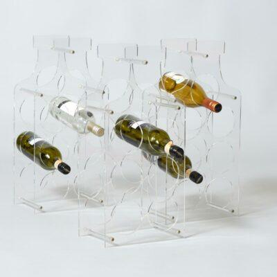 Vintage-eighties-wine-rack