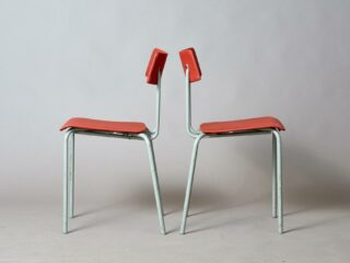 2 Ahrend tubular chairs - Utility Series