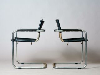 Bauhaus chairs vintage Italian re-production