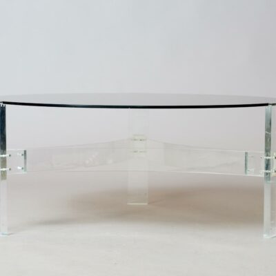 round-lucite-acrylic-coffeetable