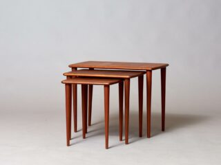 Teak Nesting Tables - Sweden