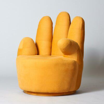 yellow-pop-art-lounge-chair-hand