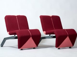 Artifort lounge chairs - 1980's
