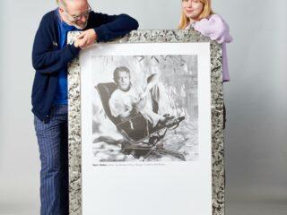 Vitra Campaign Poster - Alain Delon