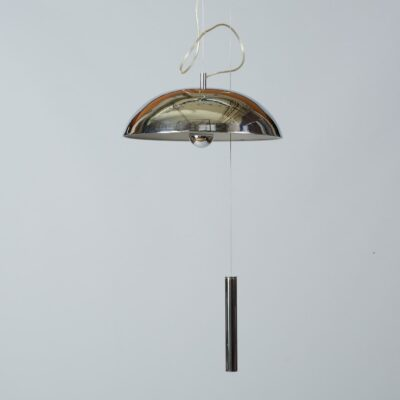 Hanging-lamp-chrome-design