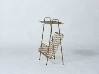 Magazine Rack and Table - 1950's