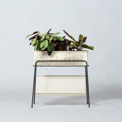 white-metal-plantholder-midcentury