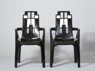 Pierre Paulin - Boston Chairs