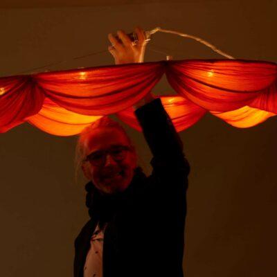 ceiling-lamp-bessselink-orange