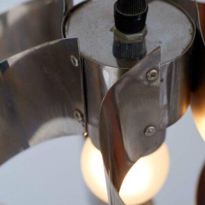 chromed-metal-pendant-lamp-midcentury