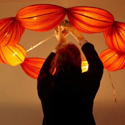 orange-ceiling-lamp-vintage-seventies-style