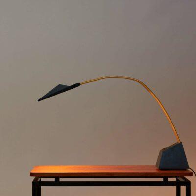 vintage-postmodern-stilnovo-nastro-lamp