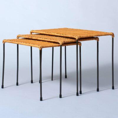 wicker-nesting-tables-1960's-artimeta