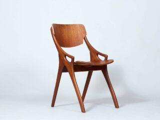 Vintage Teak Dining Chair - 1960's