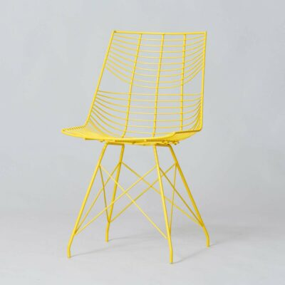 vintage-1980-wired-metal-chair