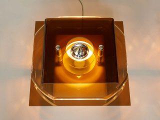 Plexiglas Lamps - 1970's