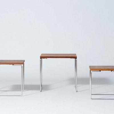 nesting-tables-metal-wood-midcentury