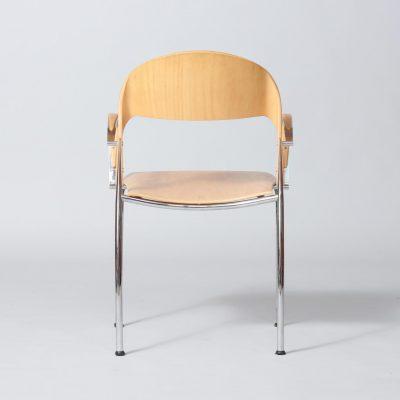 dining-chair-wood-metal-katwijk-holland