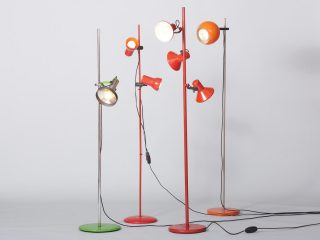 Various Floorlamps - 1970's
