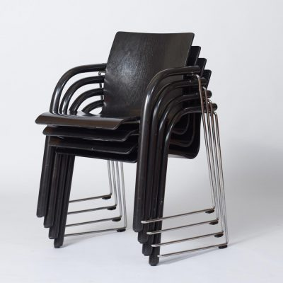 set-of-four-thonet-chairs