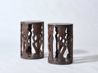 Set of African Stools
