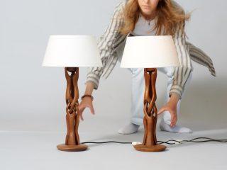 Teak Table Lamps - 1960s