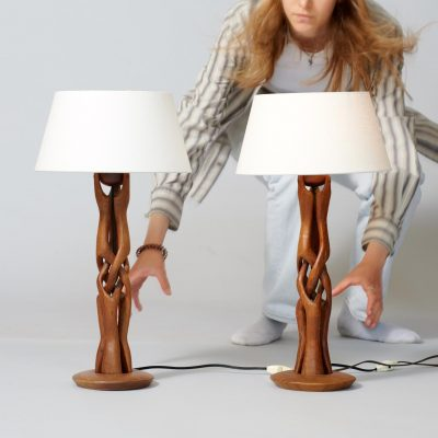 organic-set-of-denmark-wooden-table-lamps