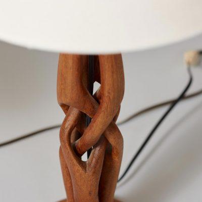 teak-wooden-table-lamps-midcentury