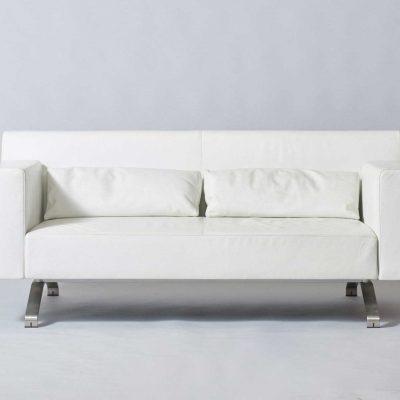 French-sofa-white-leather-ligne-roset