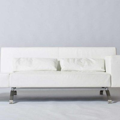 Ligne-Roset-three-seater-sofa-white-leather